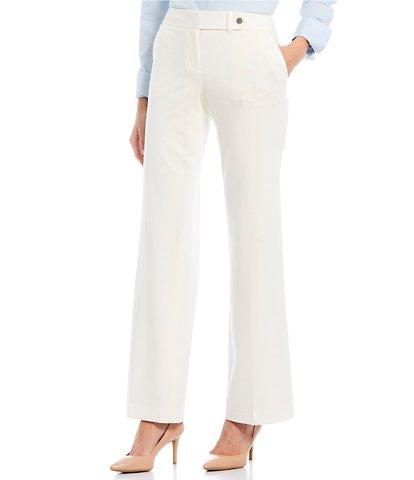 Calvin Klein White Women's Work Pants | Dillard