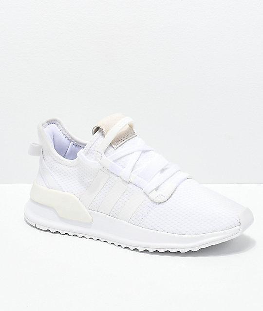 adidas U Path Run White Shoes | Zumi