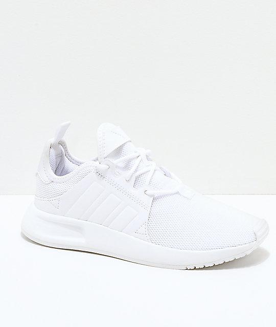adidas Xplorer All White Shoes | Zumi