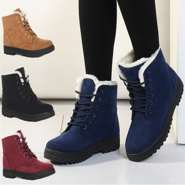 Women's Fashion Snow Boots Winter Ankle Boots GS   Wi