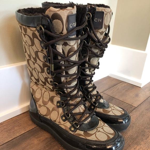 Coach Shoes   Winter Boots   Poshma