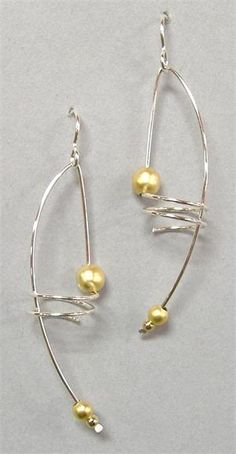 201 Best Handmade Wire Earrings images in 2020   Wire earrings .