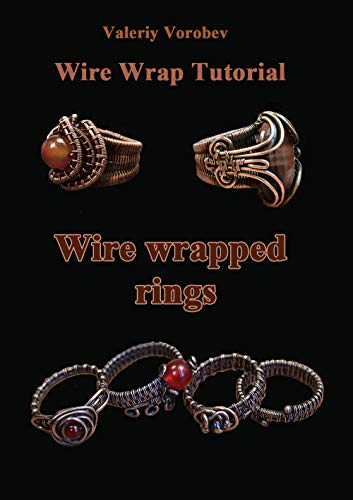 Wire wrap Jewelry tutorial. Wire wrapped rings. A step by step .