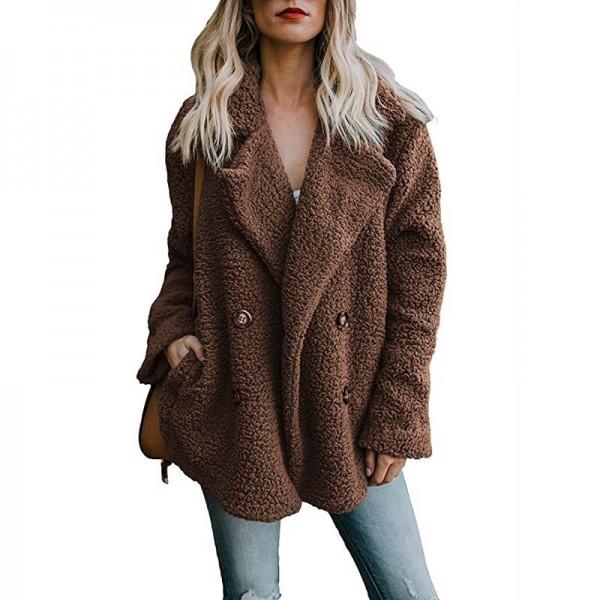 Buy Womens Jacket Winter Coat Women Cardigans Ladies Warm Jumper .