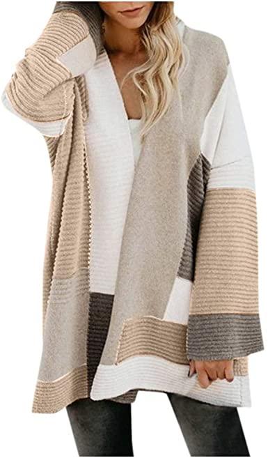 Amazon.com: Sweaters for Women Cardigans, Womens Boho Open Front .