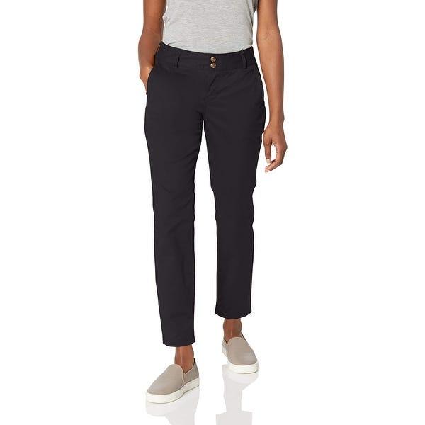 Shop Mountain Khakis Women's Chino Pants Navy Blue Size 8X28 .