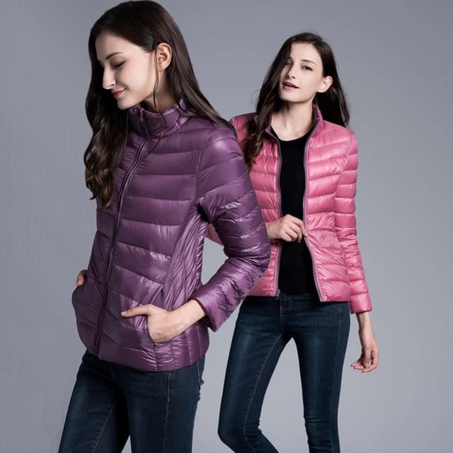 2016 Winter Duck Down Jacket Women Coats parka Ultra Light Down .