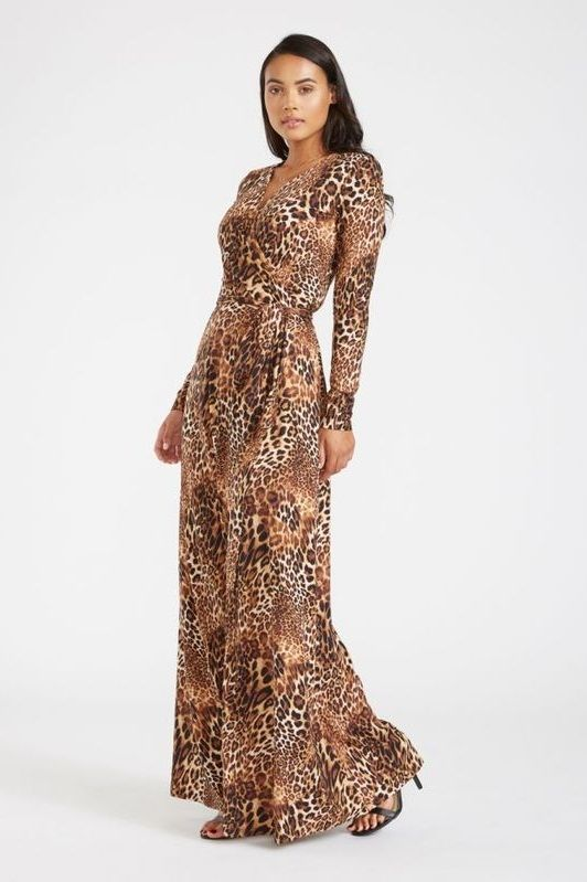 Maxi Dresses For Tall Women | Maxi wrap dress, Beautiful maxi .