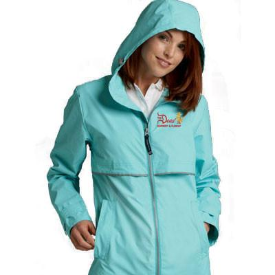 Charles River Womens Rain Jacket - Company Jacke