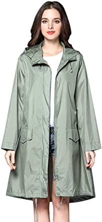 Amazon.com: THOMAS HOME Women Rain Jacket,Packable Rain Jacket .