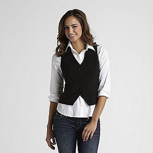 Attention -Women's Suit Vest | Womens suit vest, Vest outfits for .