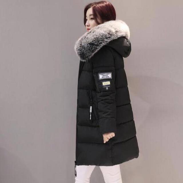 Women Winter Jacket Plus Size Army Green Womens Jacket Thick Fur .