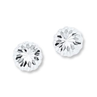 Stud Earrings 14K White Gold | Womens Earrings | Earrings | K
