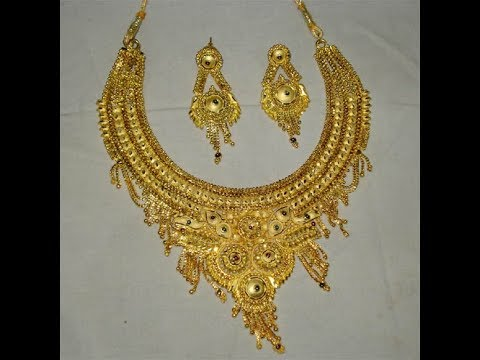 Awesome Gold Necklace For Women || Latest Gold Bridal Necklace .