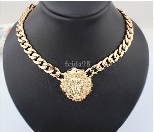 Wholesale Big Gold Necklace For Women Animal Head Necklaces .
