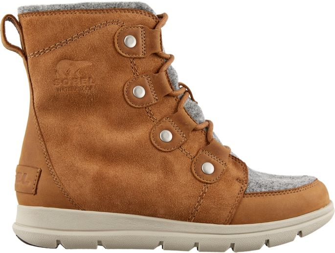 SOREL Women's Explorer Joan Felt 100g Waterproof Winter Boots .