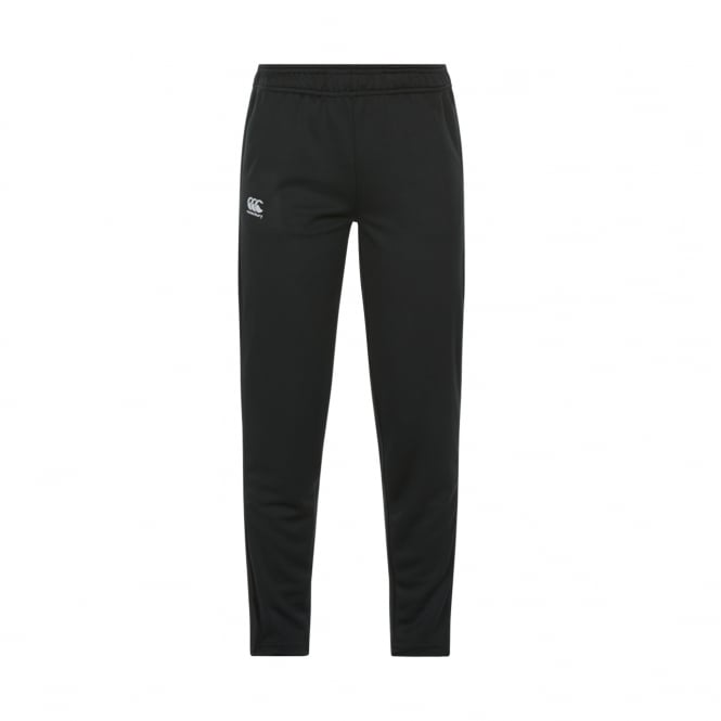 Womens Tapered Poly Knit Pants BLACK - from Canterbu
