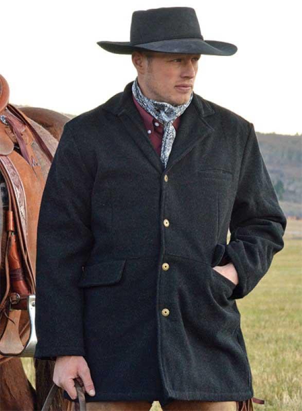 Frock Wool Coat - Wyoming Trade