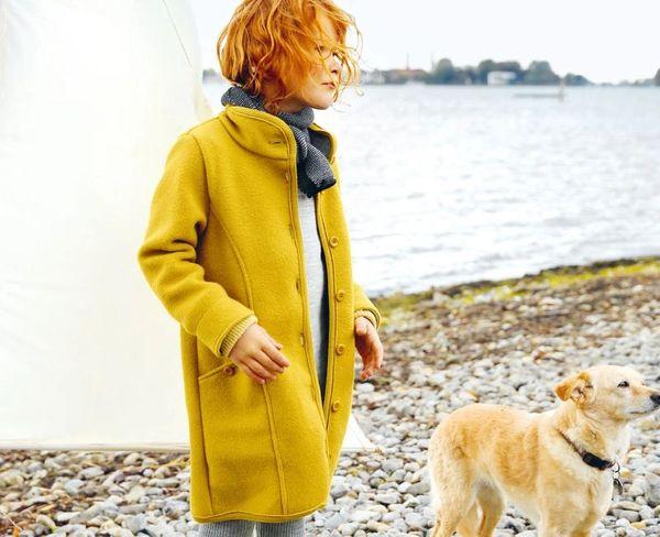 DISANA Organic Boiled Wool Coat | Sofee & Lenee ~ German Kinder .