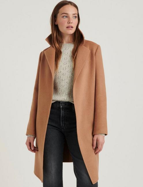 Wool Wrap Coat | Lucky Bra