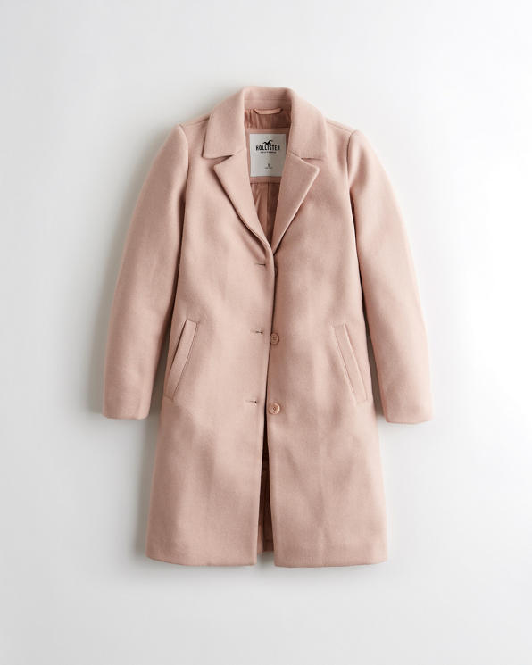 Girls Wool-Blend Coat | Girls Sale | HollisterCo.c