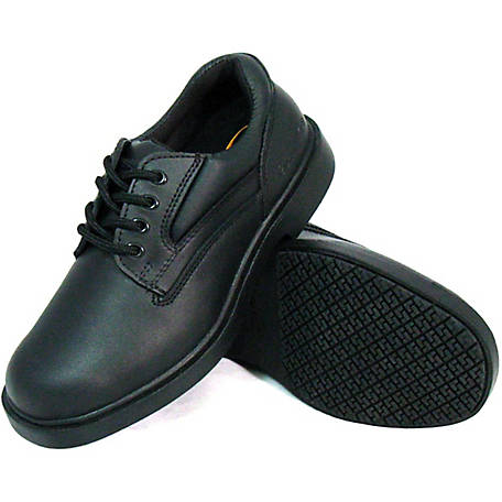Genuine Grip Men's #7100 Slip-Resistant Oxford Work Shoes at .