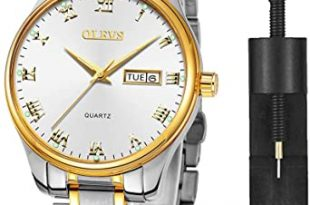 Amazon.com: Mens Wrist Watches with Date and Day,Classic Mens .