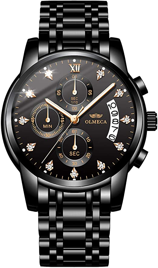 Amazon.com: OLMECA Men's Watches Sports Fashion Wristwatches .