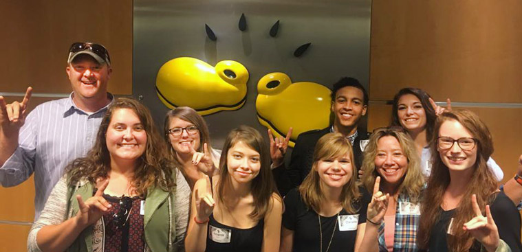 Art and Design Students Present Work to Disney's Yellow Sho