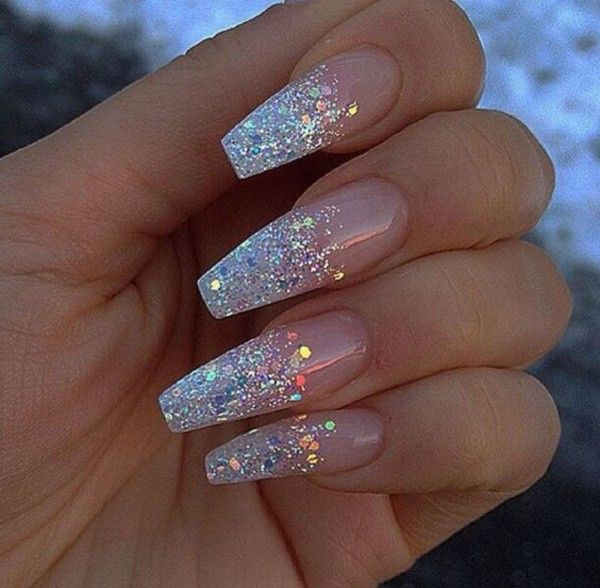 60 Simple Acrylic Coffin Nails Colors Designs Koees Blog in 2020 .