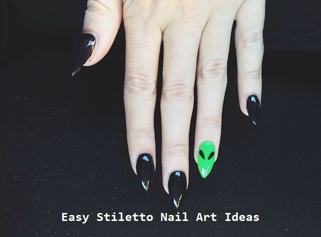 30 Great Stiletto Nail Art Design Ideas 2 (With images) | Black .