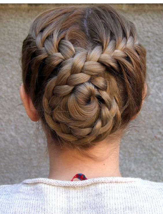 30 Amazing Braided Hairstyles for Medium & Long Hair - Delightful .