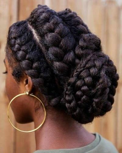 38 Truly Amazing Goddess Braids - BelleT