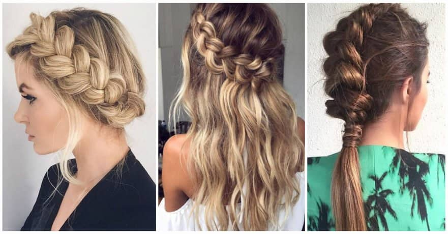 50 Trendy Dutch Braids Hairstyle Ideas to Keep You Cool in 20