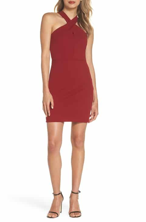 Women's Cocktail & Party Dresses | Red cocktail dress, Date night .