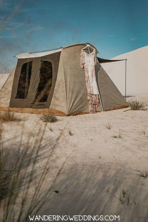 Wedding Details From This Desert Elopement | Elopement inspiration .