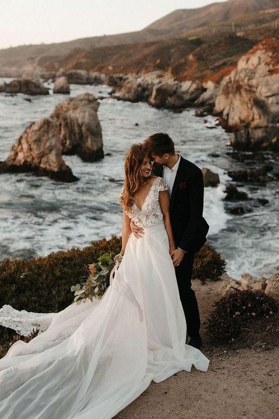 61 Great Elopement Wedding Dresses Ideas - Weddingoman