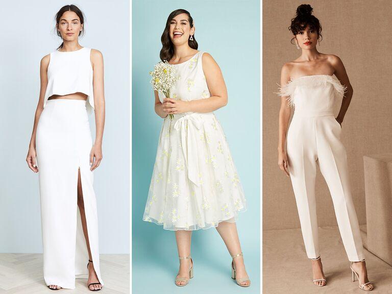 22 Elopement Dresses That Are Just Plain Stunni