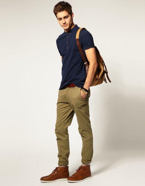 6 Amazing Ways To Wear Polo | Moda hombre, Moda ropa hombre, Ropa .