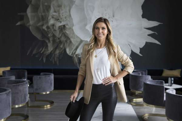 The Hills' star Audrina Patridge headlines style summit at the .