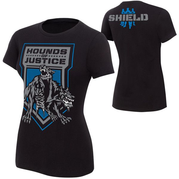 "The Shield ""Hounds of Justice"" Women's Authentic T-Shirt ❤ liked ."