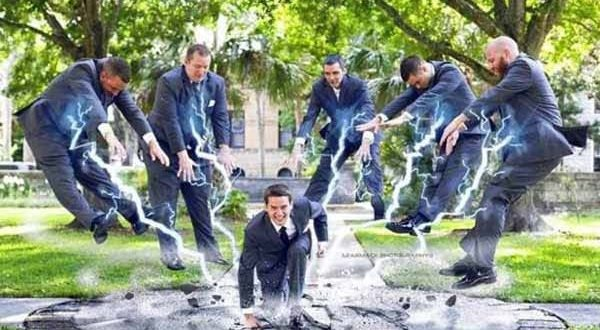 19 Awesome Groomsmen Photos That Prove Guys Know How To Have Fun To