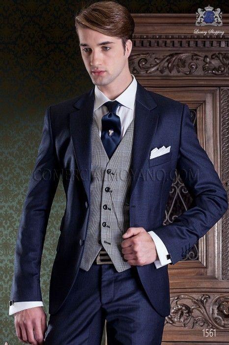 17 Awesome Groomsmen - Beauty of Wedding   Blue suit wedding, Best .