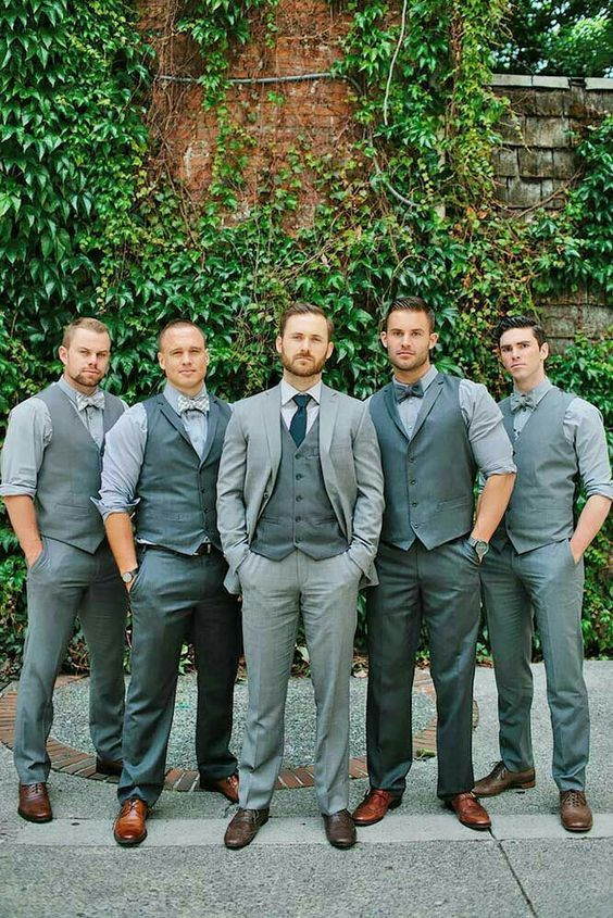 Groom + Groomsmen apparel ideas - what to wear groom | Wedding .