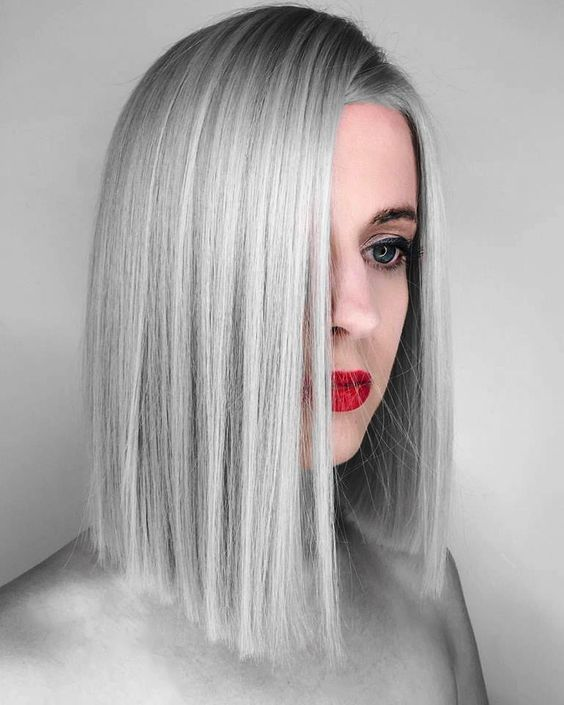 15 Awesome Trending Grey Hair 2018 That Look Futuristic And Modern .