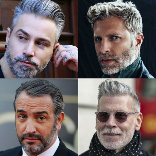 21 Best Men's Hairstyles For Silver and Grey Hair Men (2020 Guid