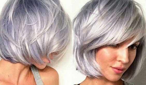 Awesome Trending Grey Hair – fashiontur.com in 2020 | Hair styles .