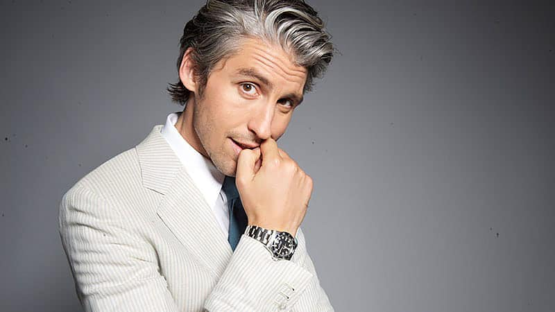 15 Best Grey Hairstyles for Men in 2020 - The Trend Spott
