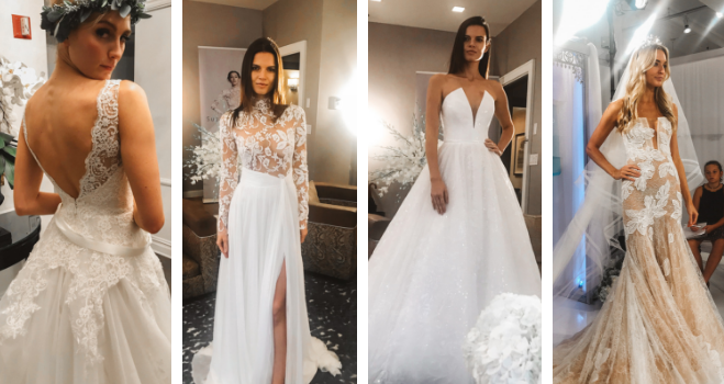 Top Three Wedding Dress Trends for 2019 from New York Bridal .