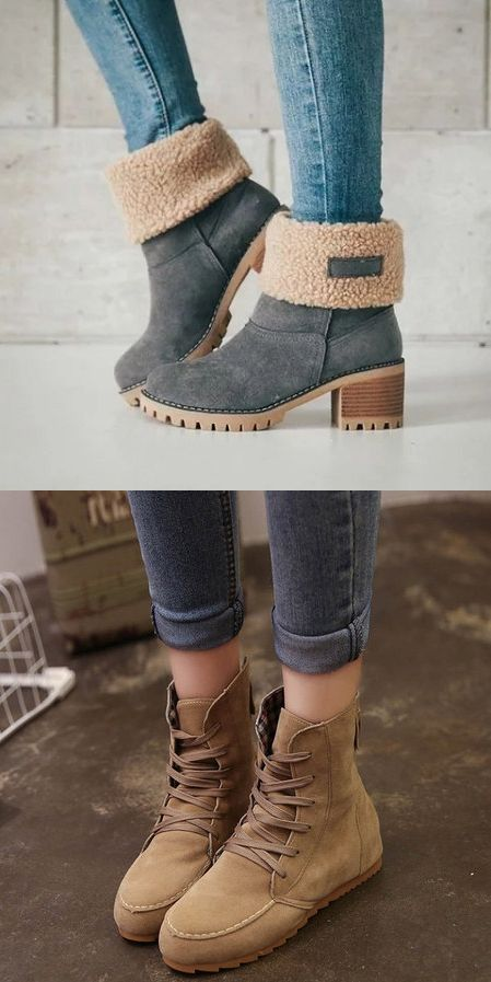 15 Awesome Winter Boots 2018 That Look Warm And Comfort - Fazhion .